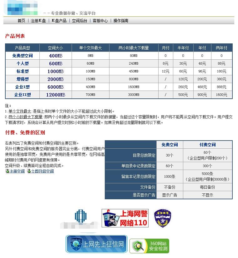精仿YS168永硕网盘商业版PHP源码