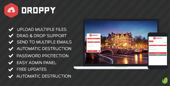Droppy V2.1.3-在线文件共享源码